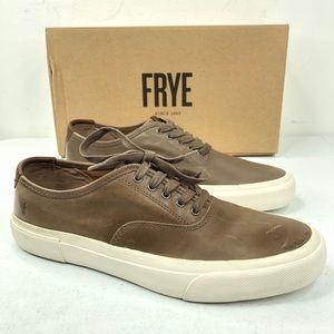 Frye Ludlow Bal Leather Sneaker Shoes